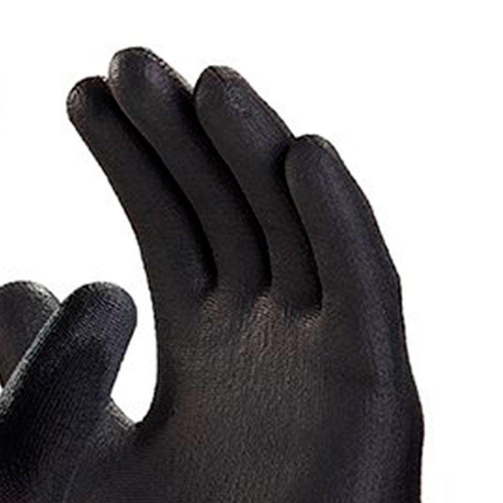 Luva de Segurança Flextáctil Preta em Nylon Tamanho XG - Imagem zoom