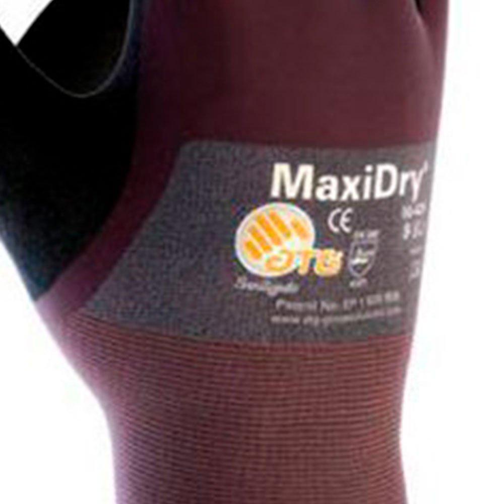 Luva de Segurança Maxidry de Nylon e Elastano com Nitrílico Foam Tamanho G - Imagem zoom
