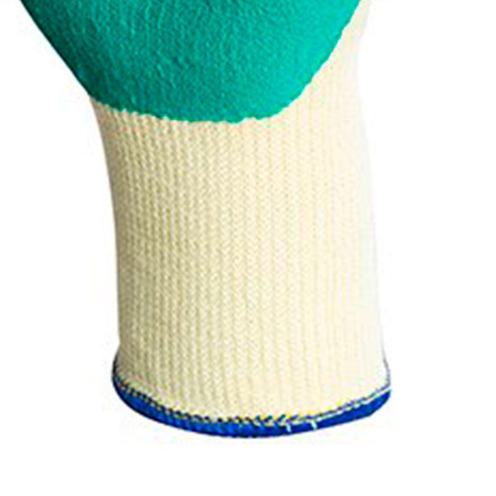Luva de Segurança Maxigrip de Algodão com Látex Tamanho P - Imagem zoom