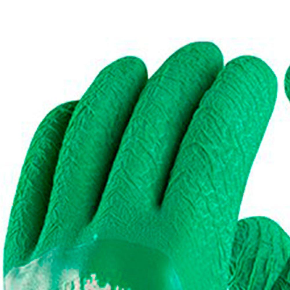 Luva de Segurança Pégasus de Algodão com Látex Tamanho XG - Imagem zoom