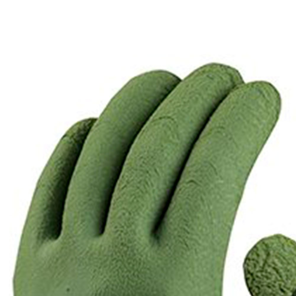 Luva de Segurança Pégasus Pró em Nylon com Banho 3/4 em Látex Corrugado Tamanho M - Imagem zoom