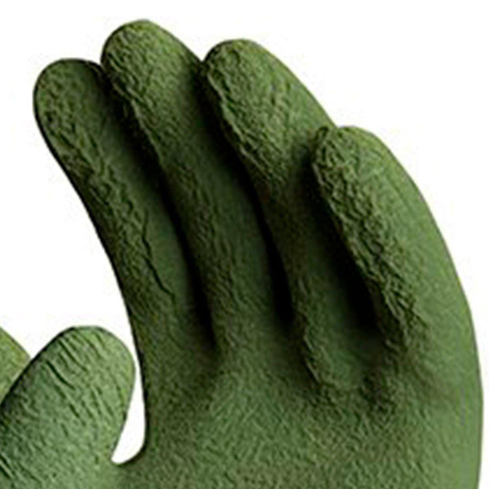 Luva de Segurança Pégasus Pró em Nylon com Banho 3/4 em Látex Corrugado Tamanho P - Imagem zoom