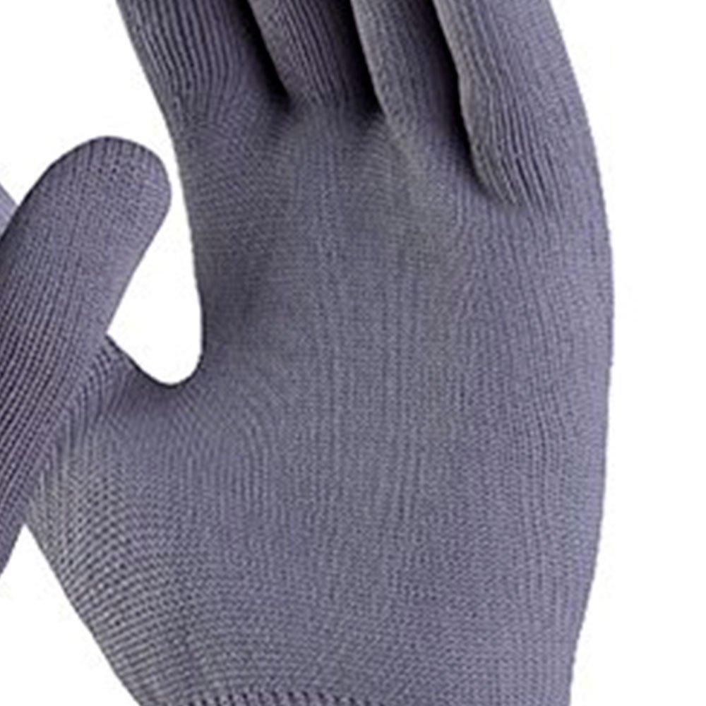 Luva de Segurança Poliflex Cinza Tricotada em Nylon Tamanho XG - Imagem zoom