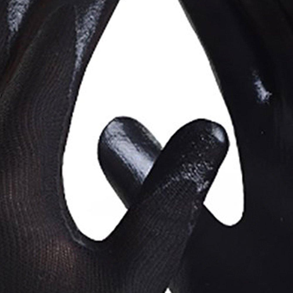 Luva de Segurança Ultrablack de Nylon com Nitrílico Tamanho M - Imagem zoom