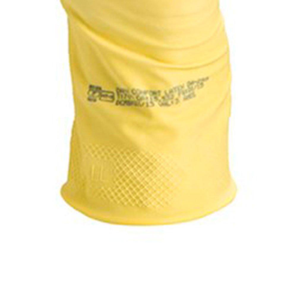 Luva de Segurança Confort Látex com Forro de Algodão Flocado Tamanho M - Imagem zoom