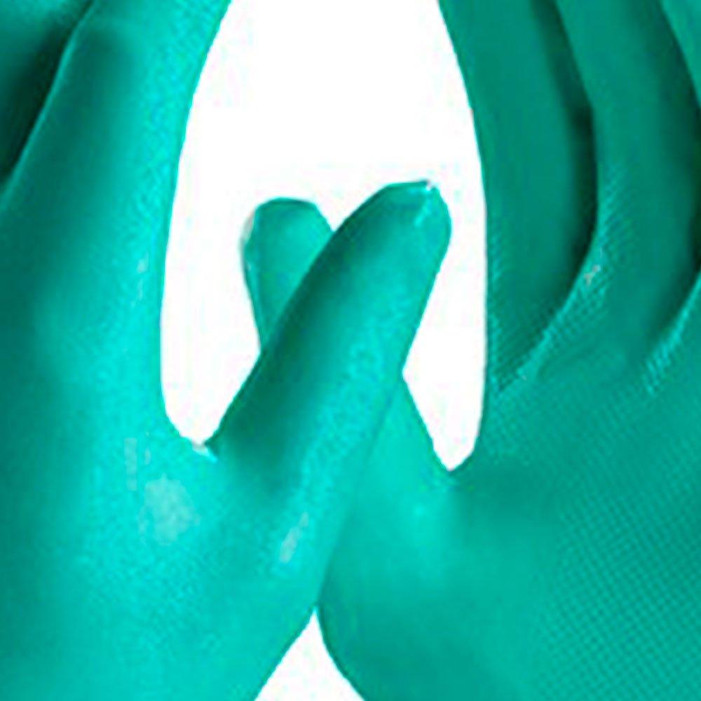 Luva de Segurança Nitrasolv Nitrílica com Forro Tamanho M - Imagem zoom