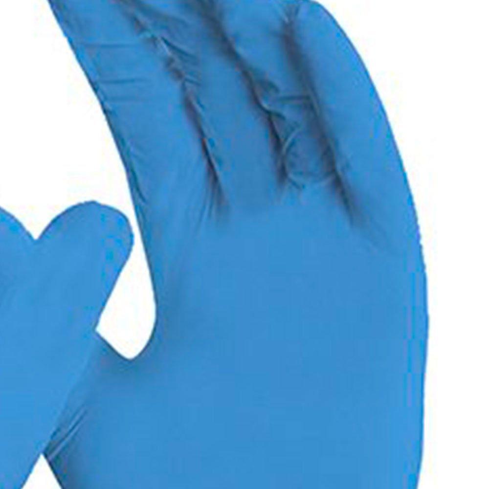 Luva de Segurança Sensiflex Flex Azul Tamanho M - 50 Pares - Imagem zoom