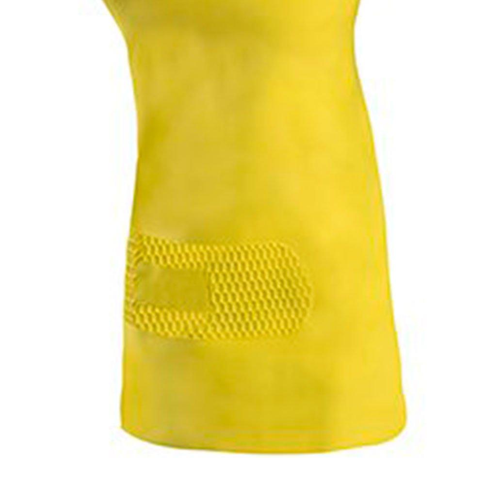 Luva de Segurança Silver Látex Amarelo Tamanho M - Imagem zoom