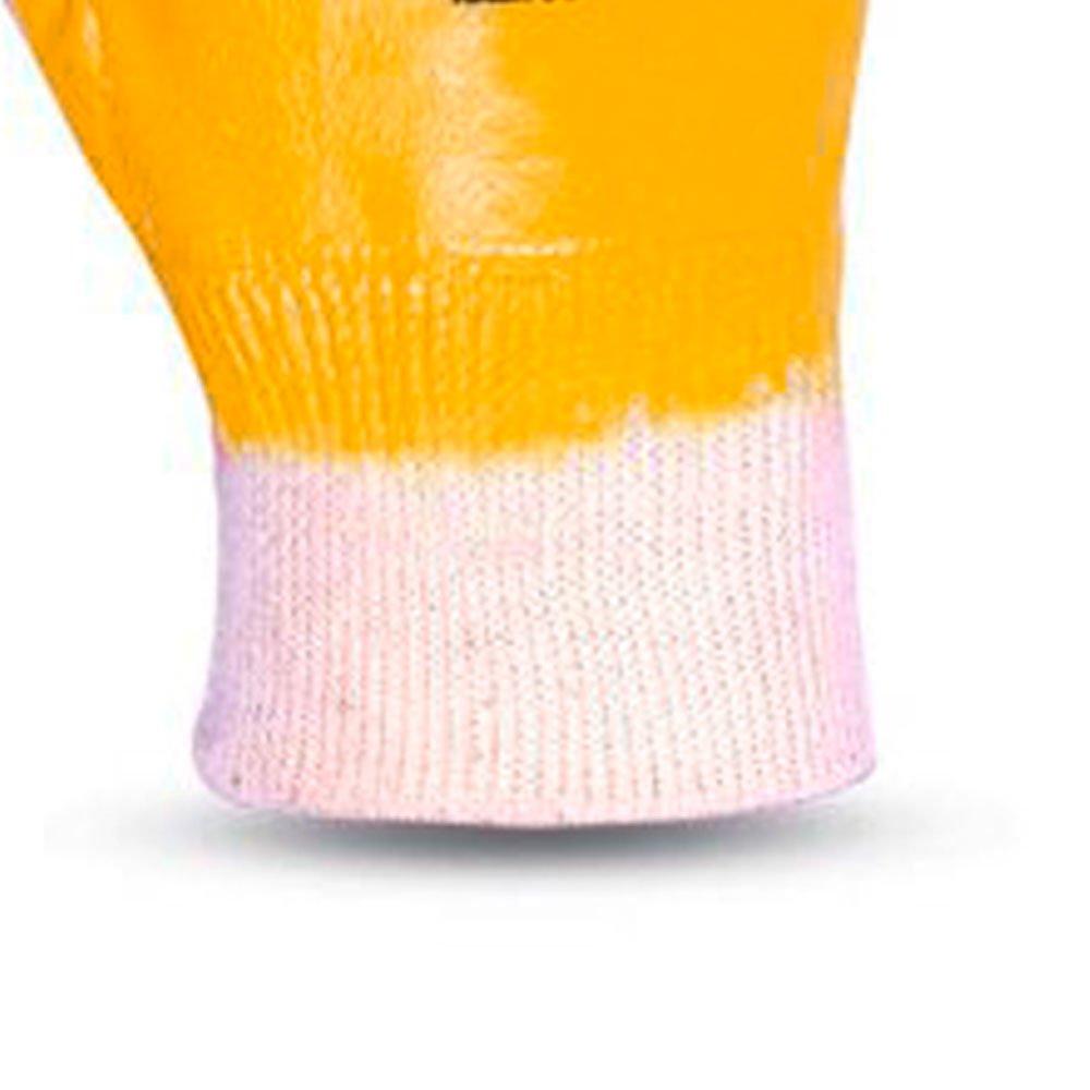 Luva de Segurança Nitrili-Ka25 Amarela Tamanho G - Imagem zoom