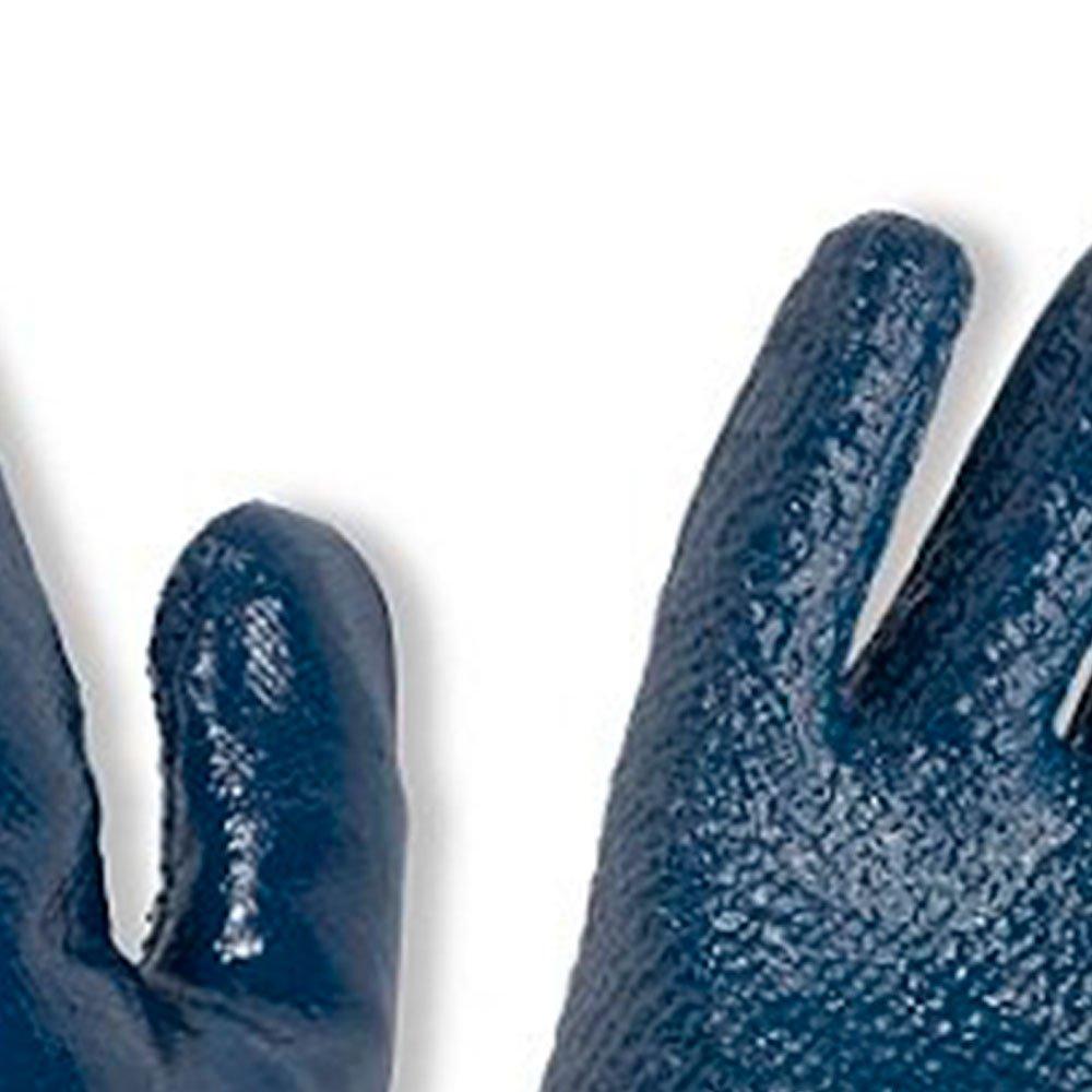 Luva de Segurança Nitrili-Ka40 Azul Revestimento em Grafatex Tamanho XG - Imagem zoom