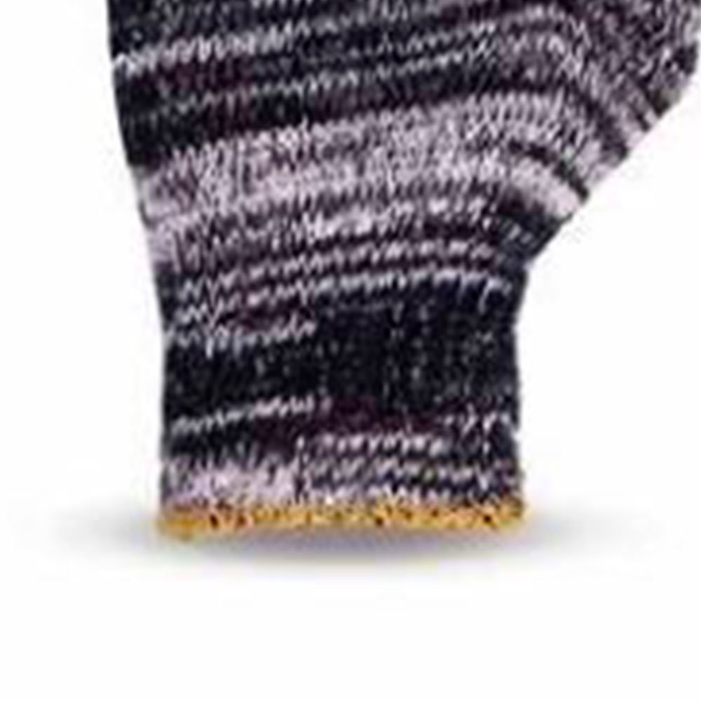 Luva de Segurança Tricotada Mesclada Tamanho M - Imagem zoom