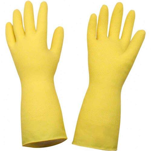 luva látex g amarela