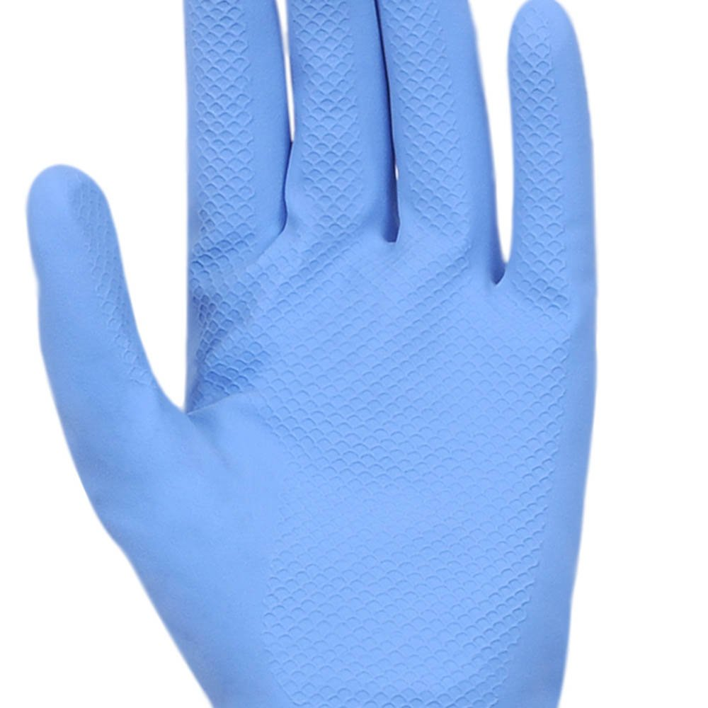 Luva Multiuso Látex Standard Azul com Forro -  Pequena - Imagem zoom