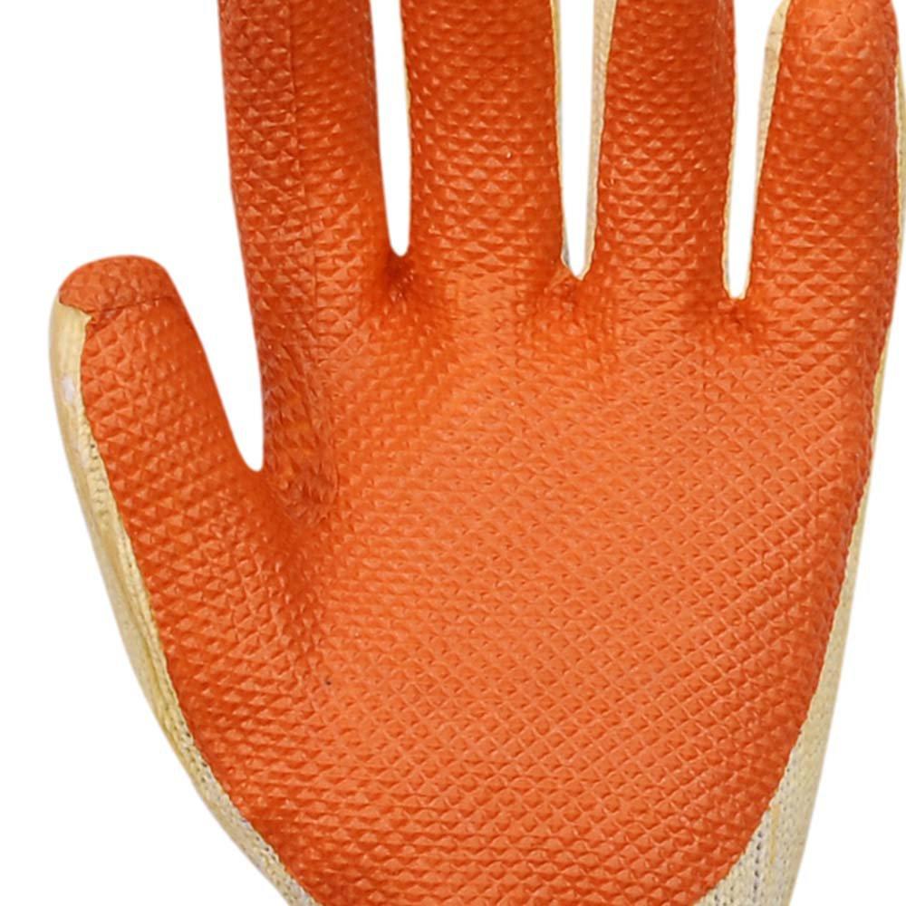Luva Látex Laranja e Suporte Textil - Média - Imagem zoom