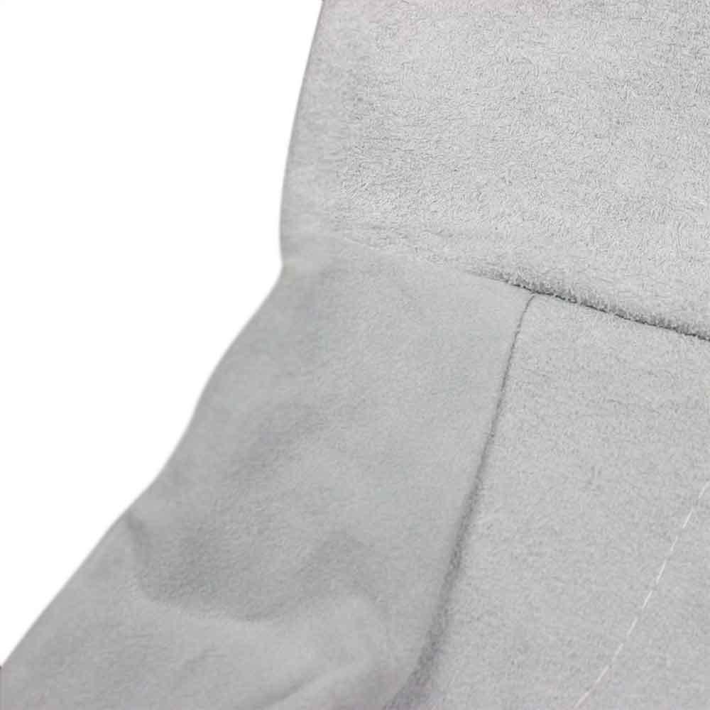 Luva de Raspa de Couro com Punho de 20cm - Imagem zoom