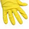 Luva Multiuso Látex Amarelo - Tamanho P - Imagem 2