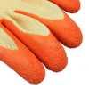 Luva de Segurança Tricotada com Látex Tamanho P - Orange Flex - Imagem 3