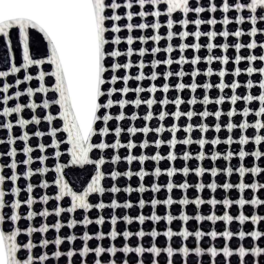 Luva Tricotada Pigmentada Branca  - Imagem zoom