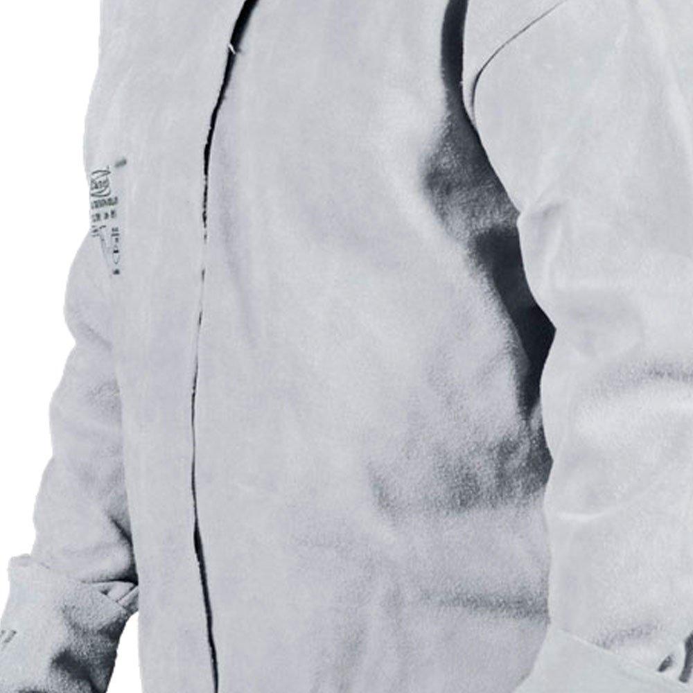 Camisa de Segurança tipo Blusão para Soldador Tamanho G - Imagem zoom