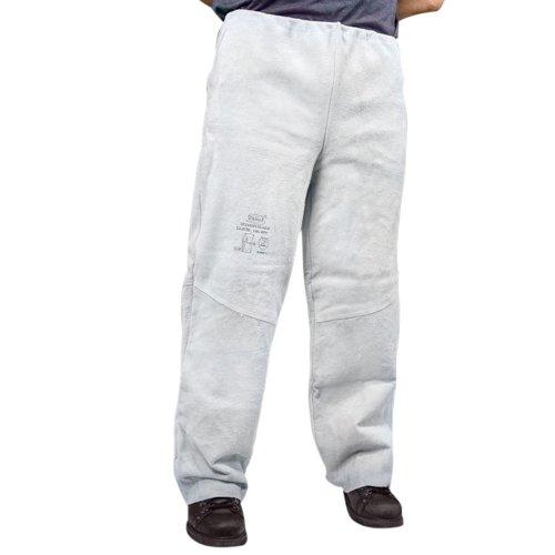 calça de raspa soldador tamanho g