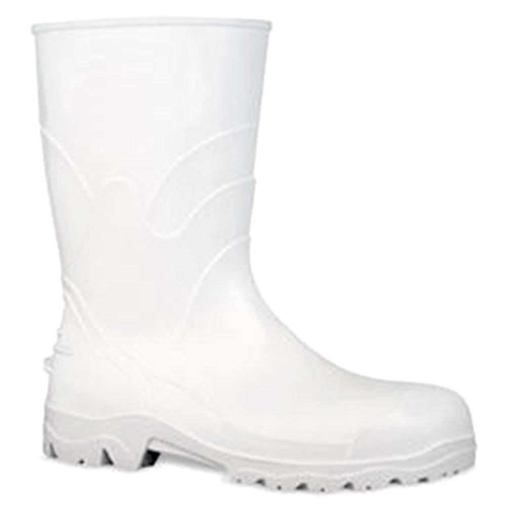Bota PVC Branca com Forro Cano 30cm n°33/34 - Imagem zoom