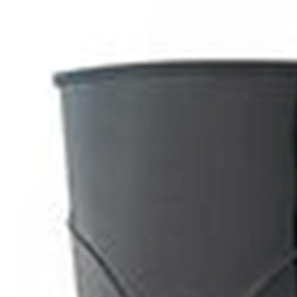 Bota PVC Preta sem Forro Cano 30cm n° 37 - Imagem zoom
