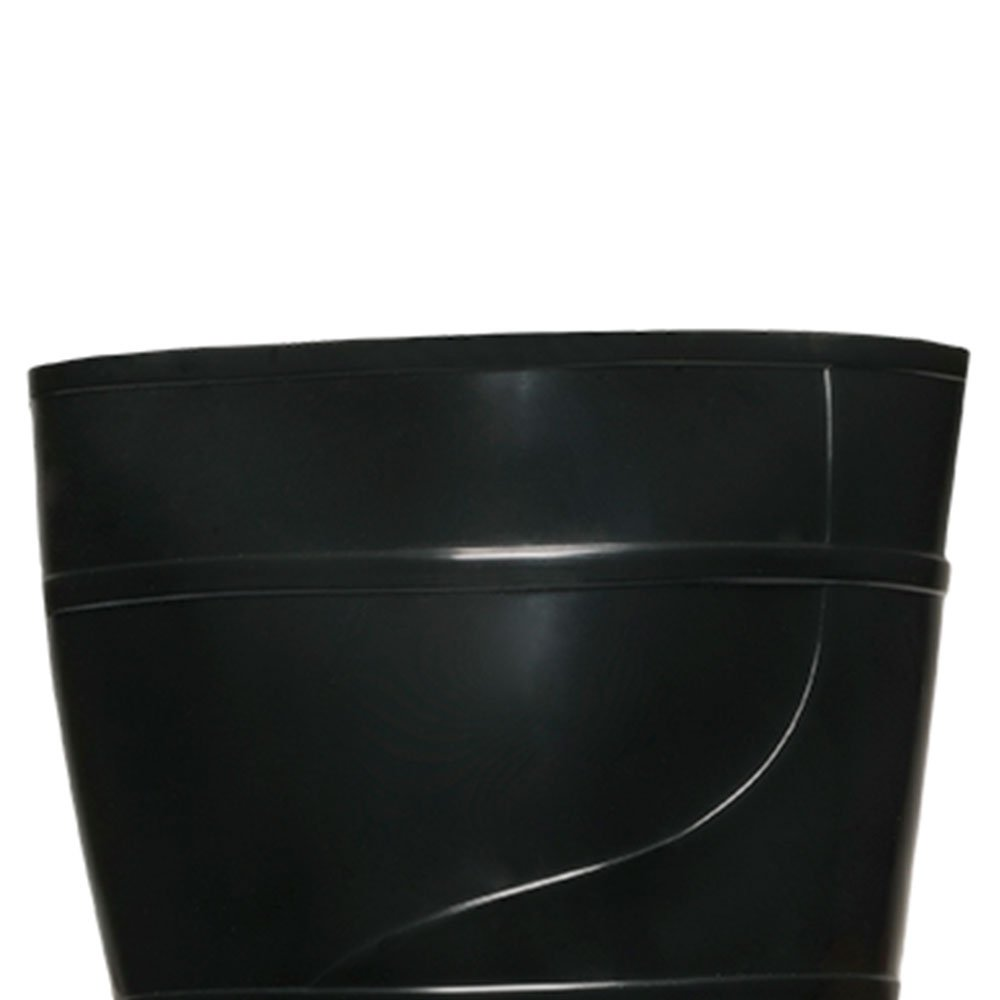 Bota PVC Preta sem Forro Cano Médio Nr. 38 - Imagem zoom