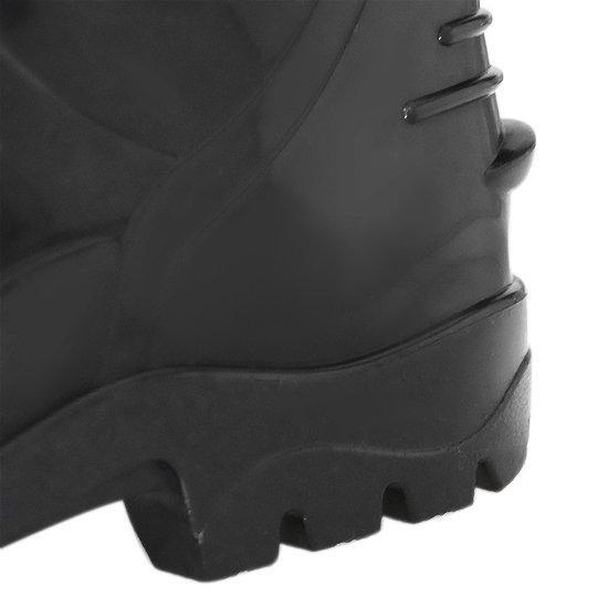Bota Impermeável de PVC Acqua Flex com Cano Curto Preto N° 37 - Imagem zoom