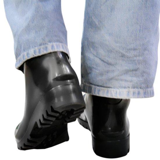 Bota Impermeável de PVC Acqua Flex com Cano Extra Curto Preto N° 39 - Imagem zoom