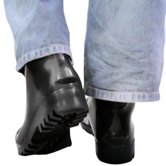 Bota Impermeável de PVC Acqua Flex com Cano Extra Curto Preto N° 43 - Imagem zoom