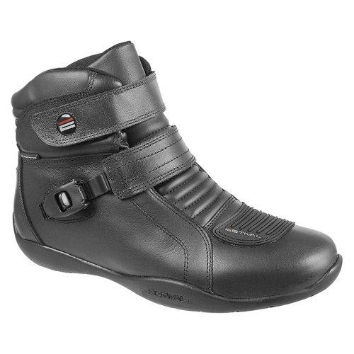 bota motoqueiro waterproof com bico de pvc n°38 preto