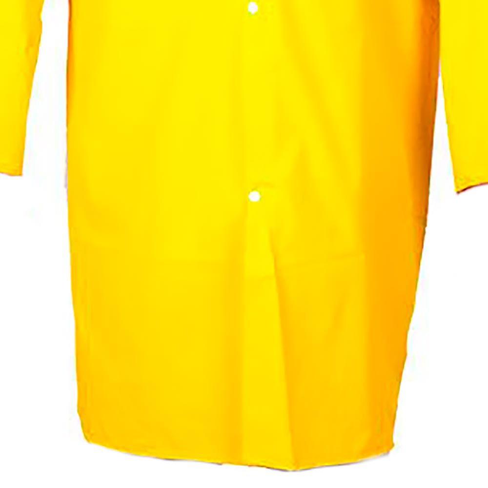 Capa de Chuva Amarela Forrada Tamanho G - Imagem zoom