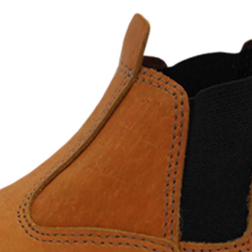 Botina de Segurança Elástico Agro Boot Marrom - Número 39 - Imagem zoom