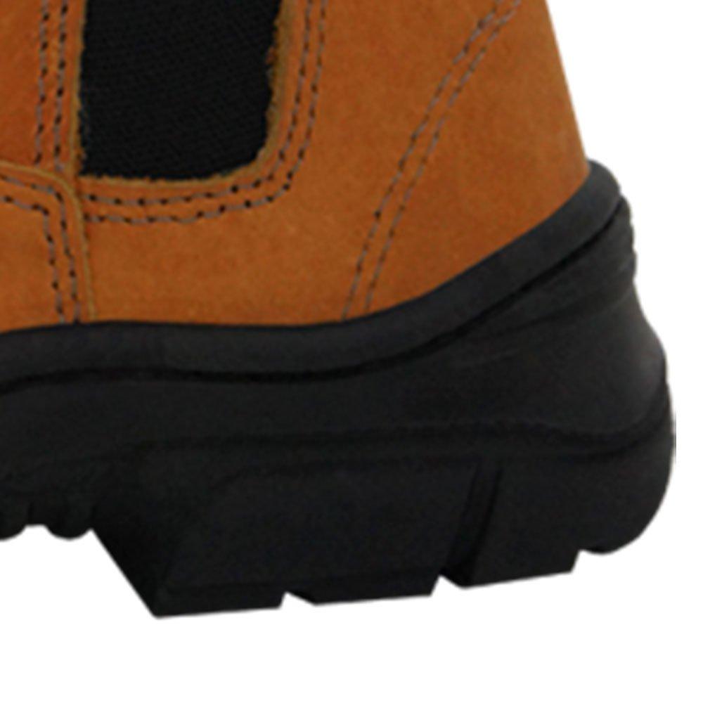 Botina de Segurança Elástico Agro Boot Marrom - Número 43 - Imagem zoom