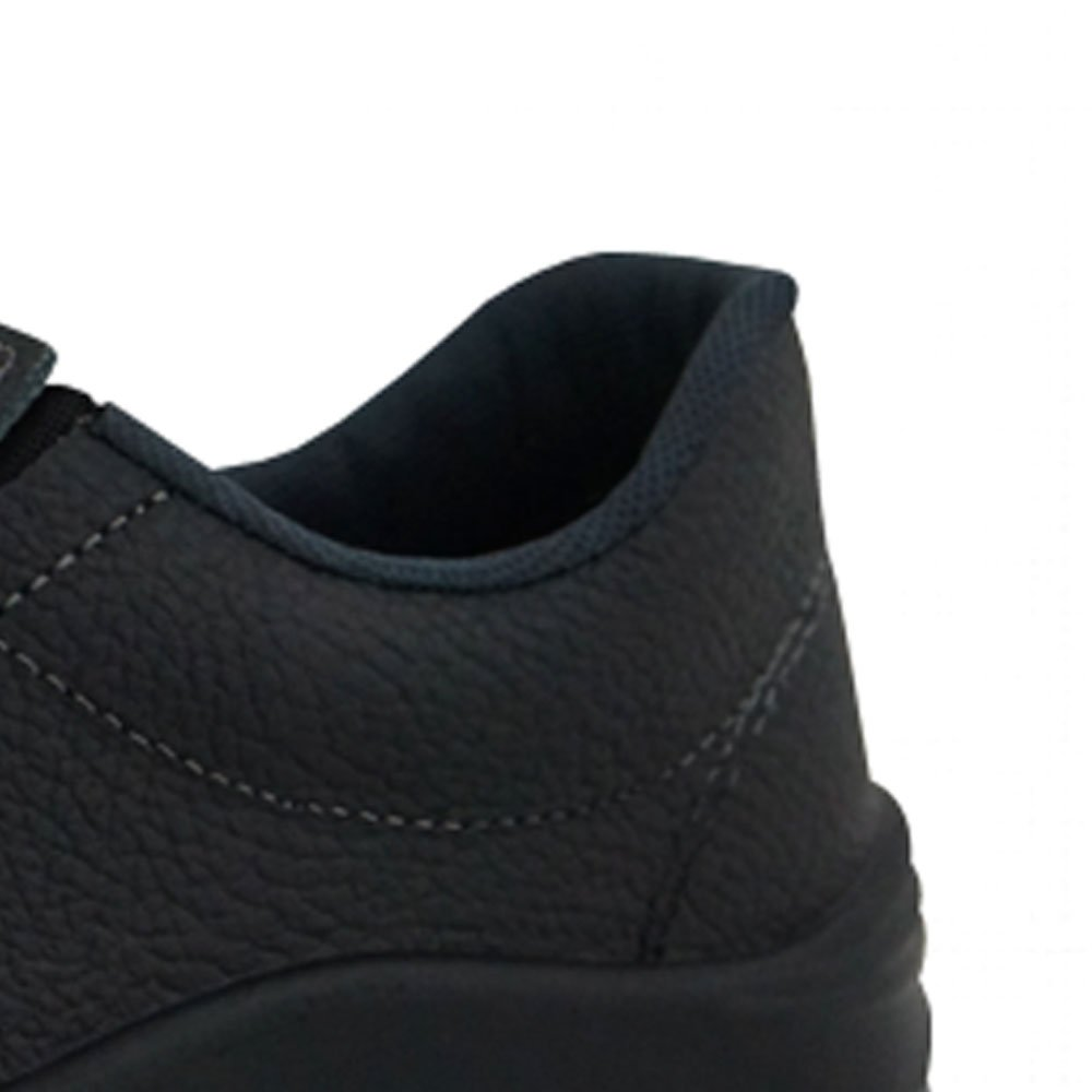 Sapato de Segurança Flex Elástico em Couro Preta - Número 40 - Imagem zoom