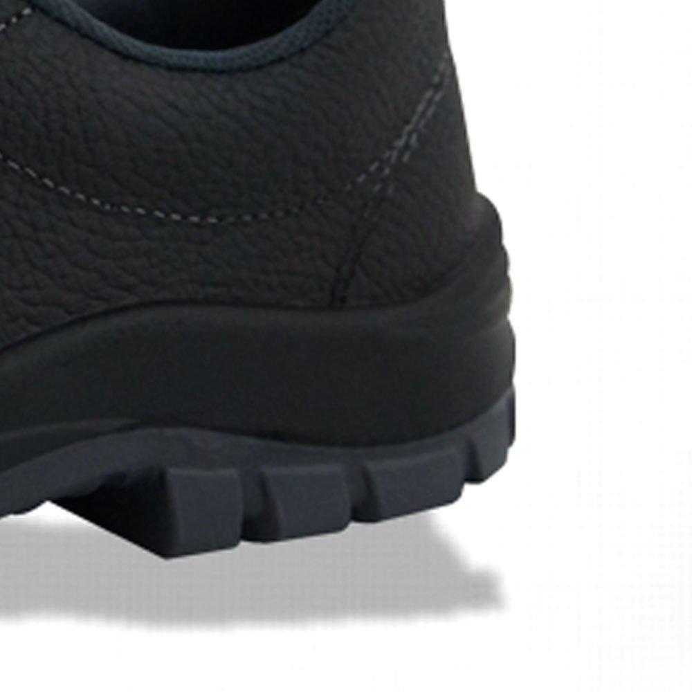 Sapato de Segurança Flex Elástico em Couro Preta - Número 42 - Imagem zoom