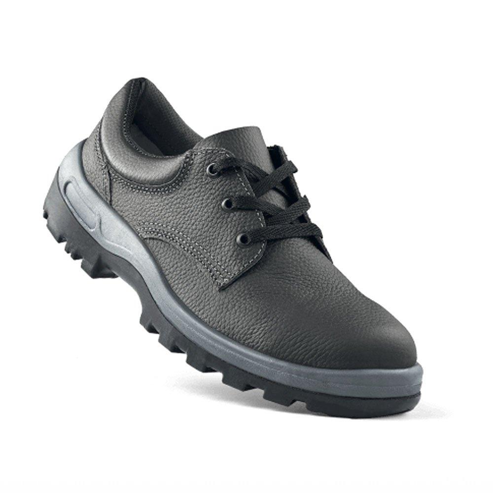 Sapato de Segurança com Cadarço e Bico de Aço - Número 41 - Imagem zoom