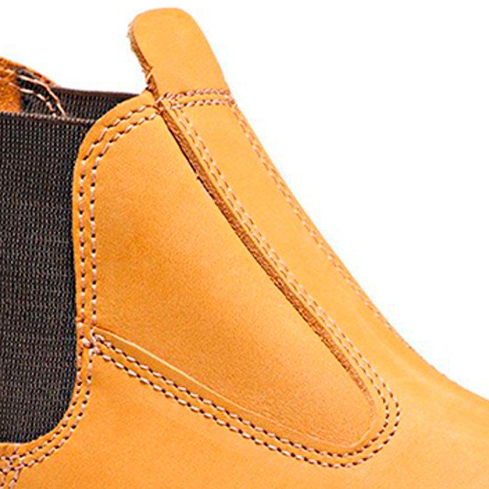 Botina de Segurança com Elástico Amarela Nº 39 - Imagem zoom
