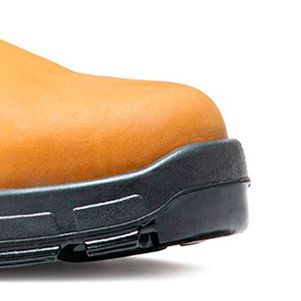 Botina de Segurança com Elástico Amarela Nr 43 - Imagem zoom