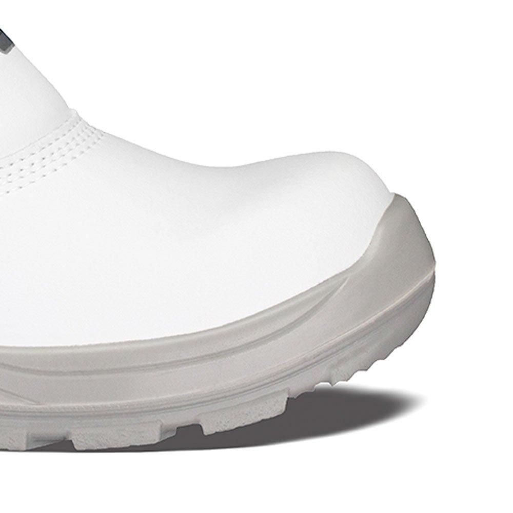 Botina de Segurança Branca em Microfibra com Elástico Nr.39 - Imagem zoom