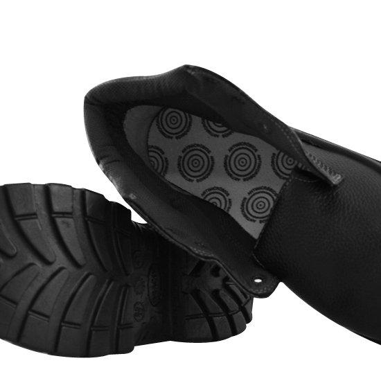Sapato de Segurança com Bico em PU Preto Nº37 - Imagem zoom