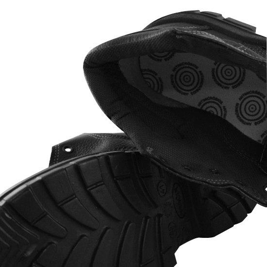 Botina de Segurança de Amarrar S/ bico Solado em PU N°41 - Imagem zoom