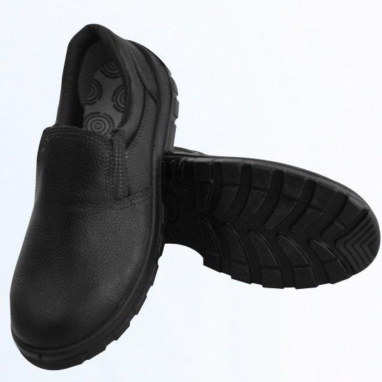 Sapato de Segurança com Bico em PU Preto Nº41 - Imagem zoom