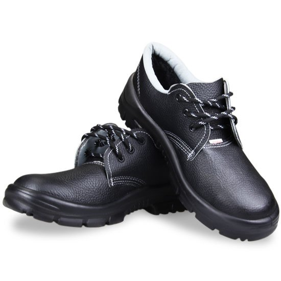 Sapato de Amarrar Premium Preto com Bico em PVC N° 43 - Imagem zoom