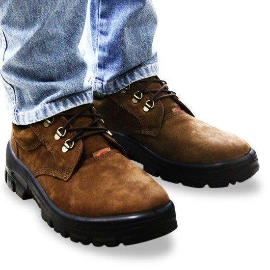 Sapato de Amarrar Estrada Castor com Bico em PVC N° 38 - Imagem zoom