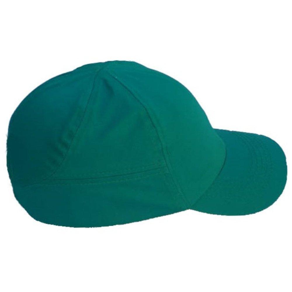 Boné de Segurança Verde com Casquete - Imagem zoom