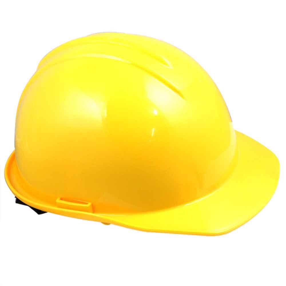 bde2104d32079 Capacete de Segurança Amarelo com Carneira - Evolution - Imagem zoom