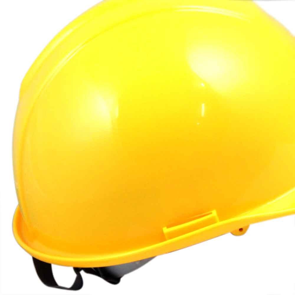 Capacete de Segurança Amarelo com Carneira - Evolution - Imagem zoom