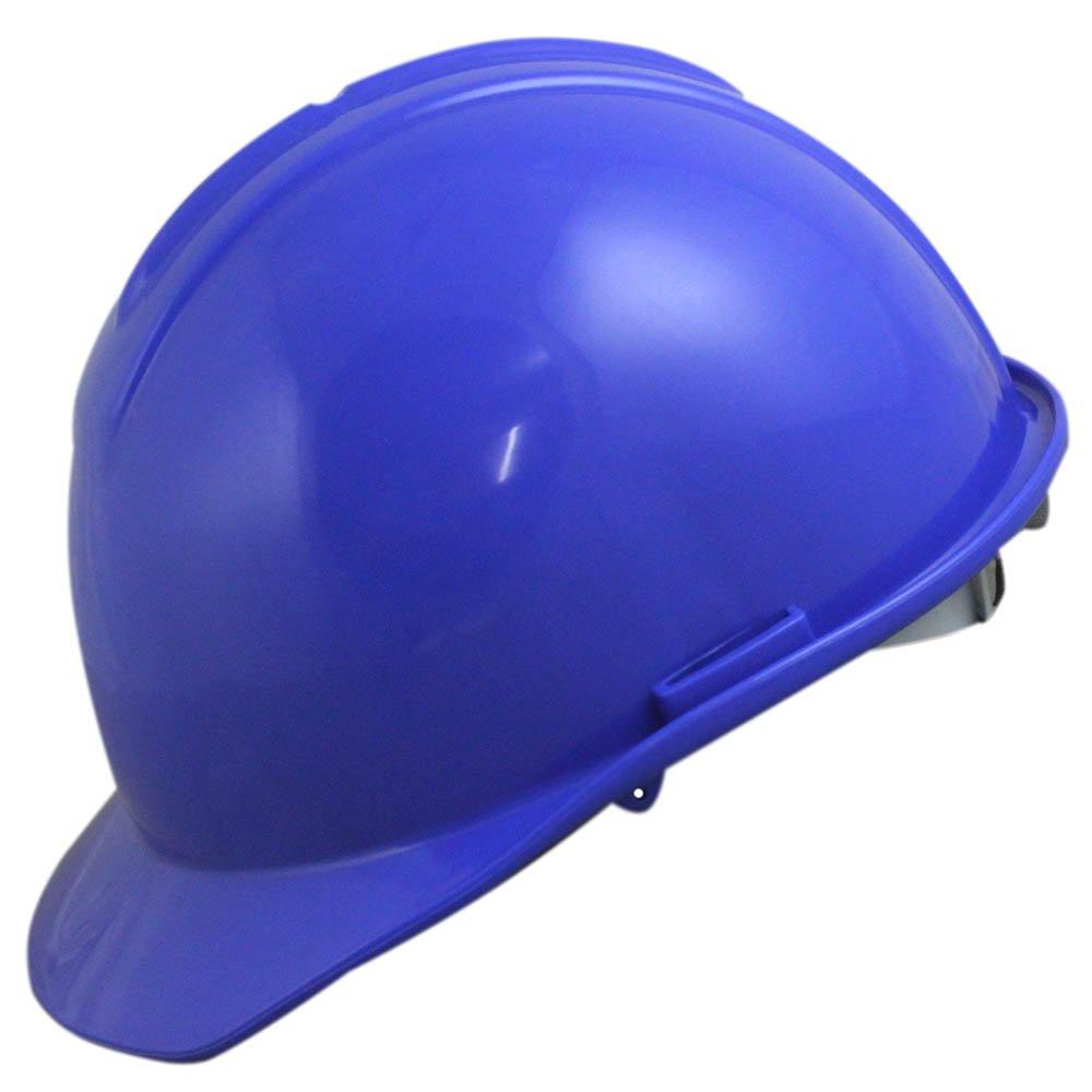 Capacete de Segurança Azul com Carneira - Evolution - Imagem zoom