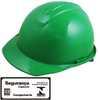 Capacete de Segurança Evolution Verde com Carneira - Imagem 1